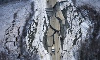 Alaska Road Already Fixed After Collapsing in Major Earthquake