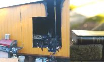 Man's Bible Survives After Fire Burns Down His Tiny Home in Texas