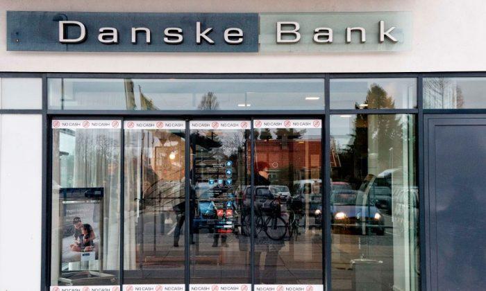 A branch of the Danske Bank in Copenhagen, Denmark in Jan. 23, 2014. (Jens Noergaard Larsen/AFP/Getty Images)