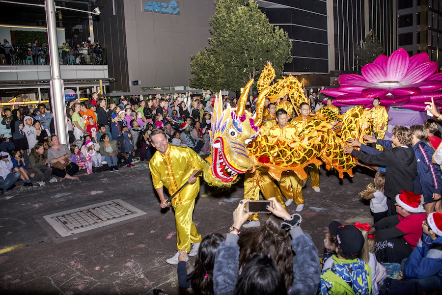 christmas pageant perth Falun Gong 2018