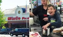 Special-Needs Boy Over the Moon When an Awesome WinCo Cashier Grants Him a Wish