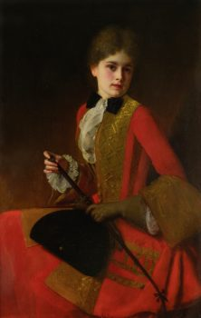 ustave_Jean_Jacquet_Girl_in_a_riding_habit