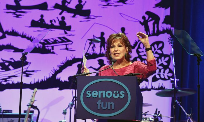 Joy Behar attends SeriousFun Children's Network 2016 NYC Gala Show in New York City on June 6, 2016.  (Slaven Vlasic/Getty Images)