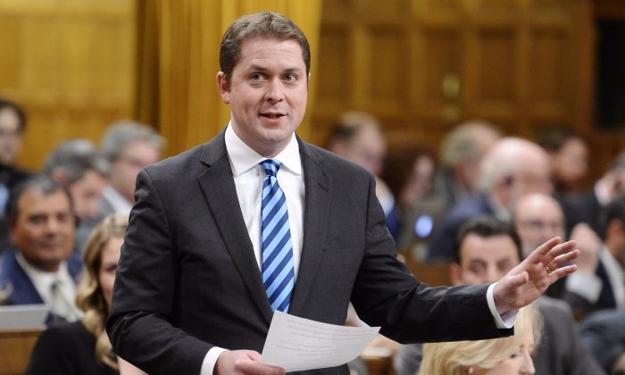Conservative Party leader Andrew Scheer. (Adrian Wyld/The Canadian Press)