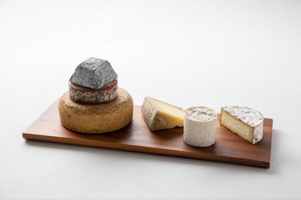 Cheese tower and assorted wheels
