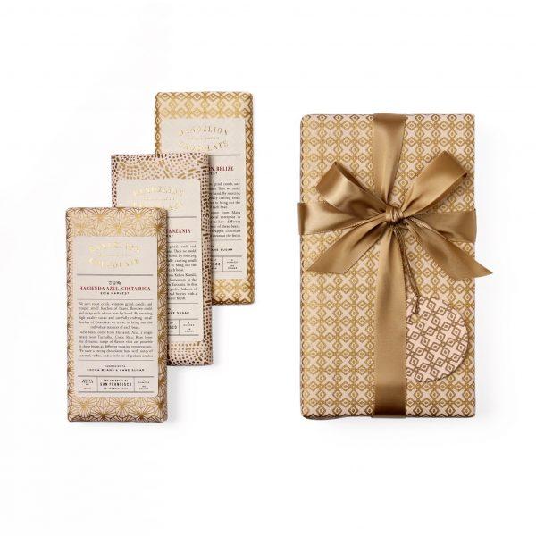 Dandelion Wrapped Gift Set w bars