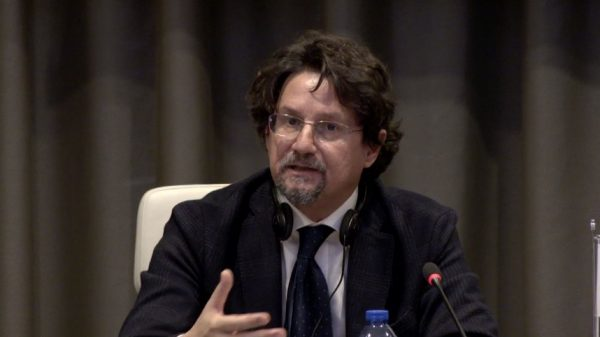 Italian prosecutor speaks at press conference