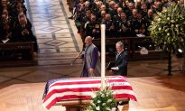Nation Bids Farewell to George H.W. Bush With Praise and Humor
