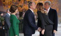 Laura Bush Thanks Melania For 'Sweet' Gesture to Bush Family Amid George H.W. Bush's Passing