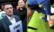 'Bully' Who Attacked Refugee Boy Tells Tommy Robinson He's Scared for His Life