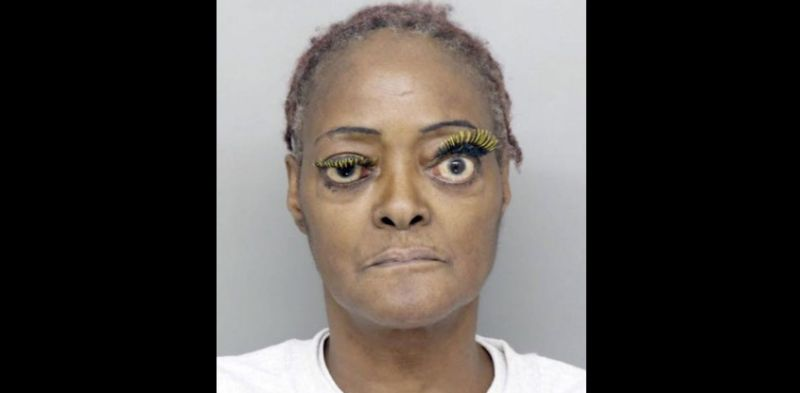 charlene thompson in viral mug shot