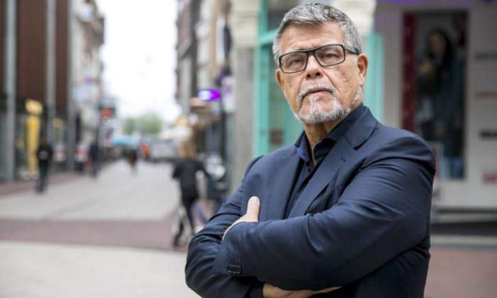 A portrait of a 69-year-old Dutchman Emile Ratelband in the centre of Arnhem, The Netherlands, on Nov. 5, 2018. (Roland Heitink/AFP/Getty Images)