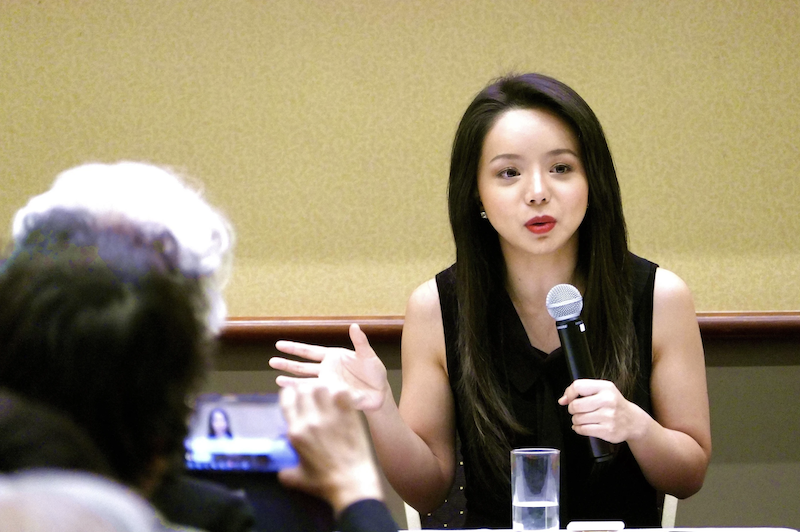 Anastasia Lin at Organ Harvesting film screening