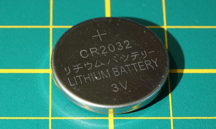 File photo of a small battery, similar to the one that killed Francesca Asan, who died in May 2016 after swallowing a button battery. (CC0/Pixabay)