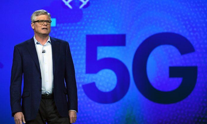 Qualcomm Inc. CEO Steve Mollenkopf speaks during a keynote address at CES 2017 last year in Las Vegas. (Ethan Miller/Getty Images)