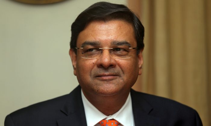 The Reserve Bank of India (RBI) Governor Urjit Patel pauses during a news conference after a monetary policy review in Mumbai, India, on Dec. 5, 2018. (Francis Mascarenhas/File Photo/Reuters)