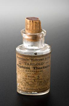 opium bottle