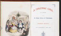 'A Christmas Carol' by Charles Dickens at Pierpont Morgan's Historic Library