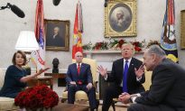 With Cameras Rolling, Trump Confronts Top Democrats Over Border-Wall Funding
