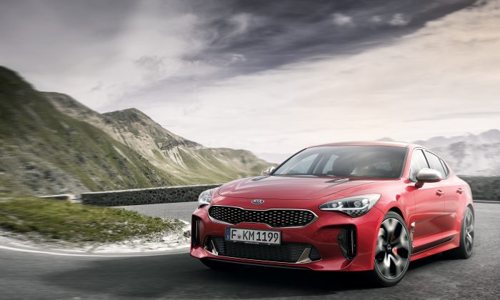 2018 Kia Stinger. (Courtesy of Kia)