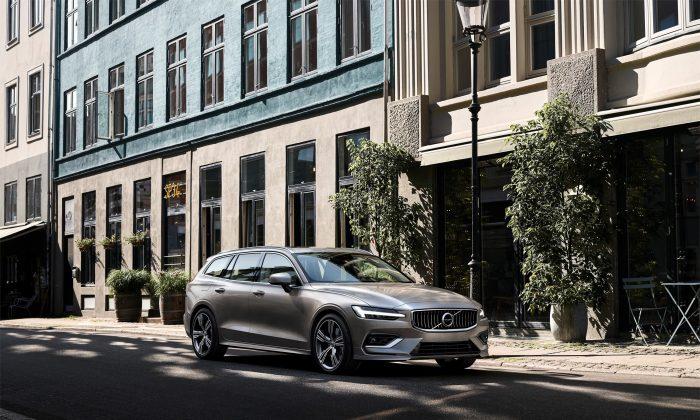 Volvo V60. (David Taylor)