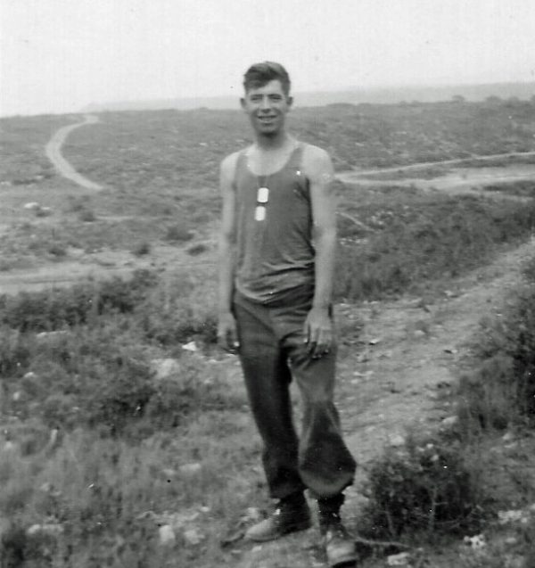 A young Schmitz