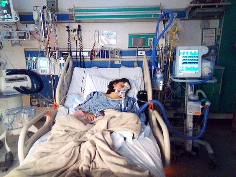 Alaina VanDerVelden spent a long time in the hospital