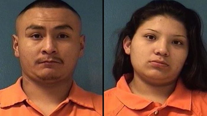 Tyrell Bitsilly, 21, and Shayanne Nelson, 18, face criminal charges after a 3-year-old boy in their care found a gun and shot his infant sister in McKinley County, New Mexico, on Dec. 8, 2018. (Gallup Police Department)