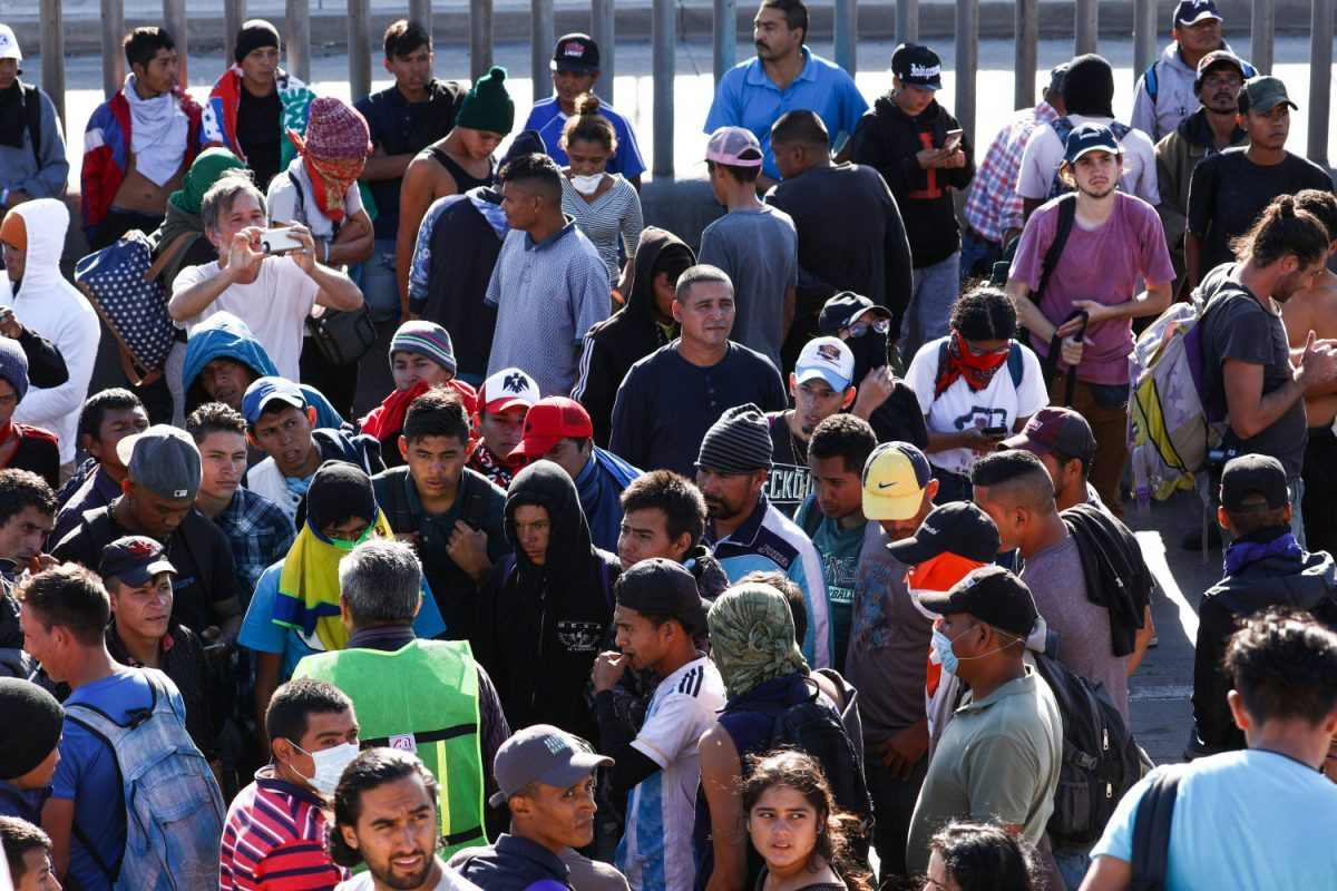 migrant caravan failed