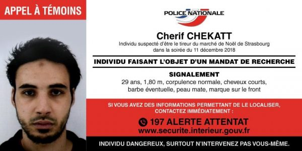 The ID of Strasbourg-born Cherif Chekatt