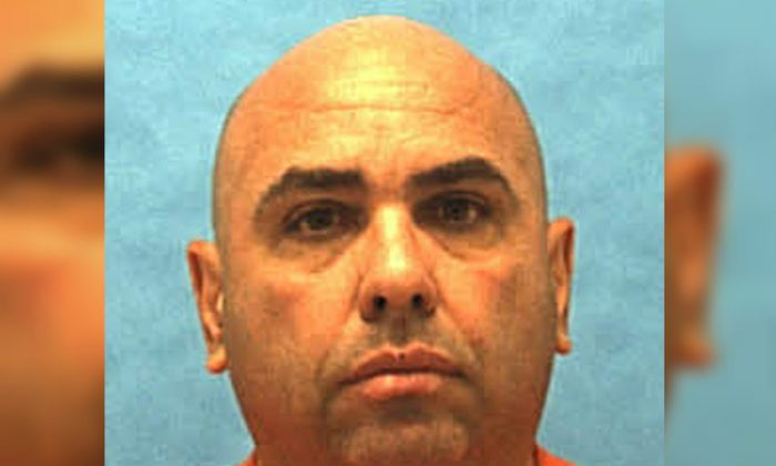 Florida death-row inmate Jose Jimenez is seen in this undated photo released by Florida Department of Corrections in Tallahassee, Florida, on Dec. 12, 2018. (Courtesy Florida Department of Corrections/Handout via Reuters)