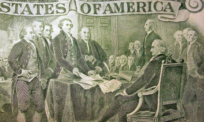 The Founding Fathers warned against an immoderate lust for riches.  (Christopher David Howells/Shutterstock)