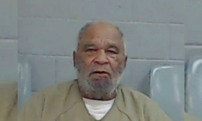 The FBI says 78-year-old Samuel Little, who has confessed to some 90 killings nationwide spanning nearly four decades, offered his confessions as a bargaining chip to be moved from a California prison. (Ector County Texas Sheriff's Office via AP)