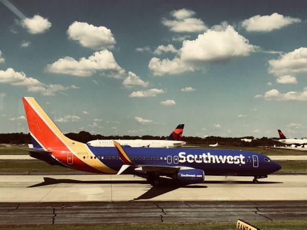 Southwest Airlines passenger jet