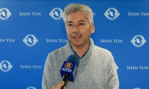 Sales Director Watches Shen Yun Every Year to Recharge His Spirit