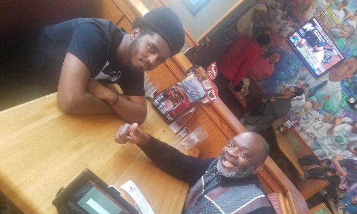 Diovion Lewis (L) and Andre Blain (R). (Courtesy of Big Brothers and Big Sisters of New York)