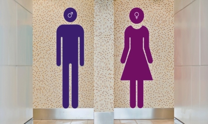File photo showing two graphic representations of male and female genders. (ASA)