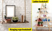 10 great ideas for DIY bookshelves, #3 will have you wondering!