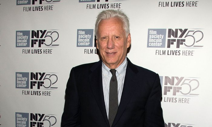 Actor James Woods attends the 52nd New York Film Festival at Walter Reade Theater in New York City on Sept. 27, 2014. (Slaven Vlasic/Getty Images)