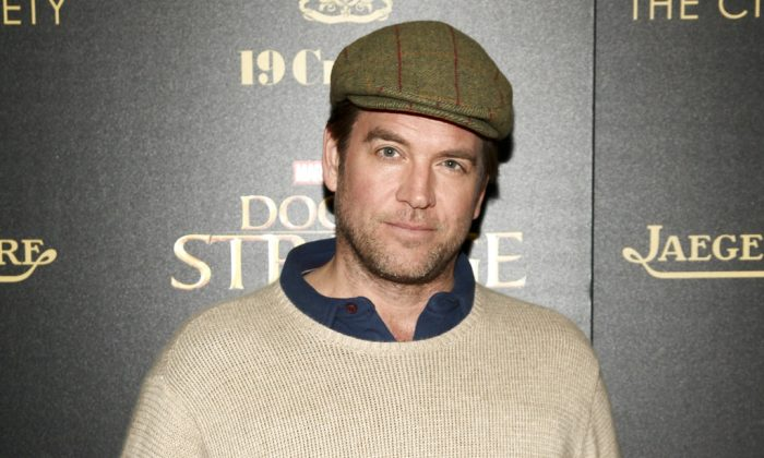 "Michael Weatherly attends a special screening of ""Doctor Strange"" at AMC Empire 25 in New York on Nov. 1, 2016.  (Andy Kropa/Invision/AP, File)"