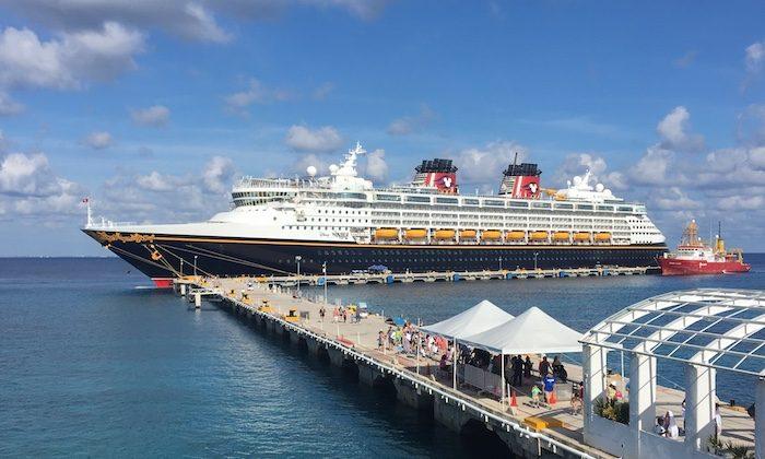 A Disney Cruise line ship. (Janna Graber)