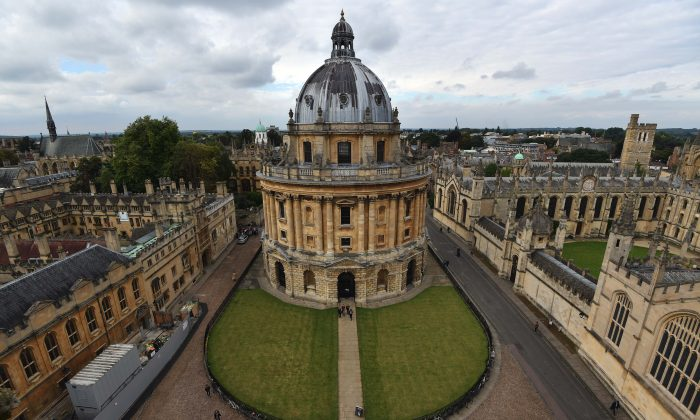 Oxford University in Oxford, United Kingdom, on Sept. 20, 2016. (Carl Court/Getty Images)