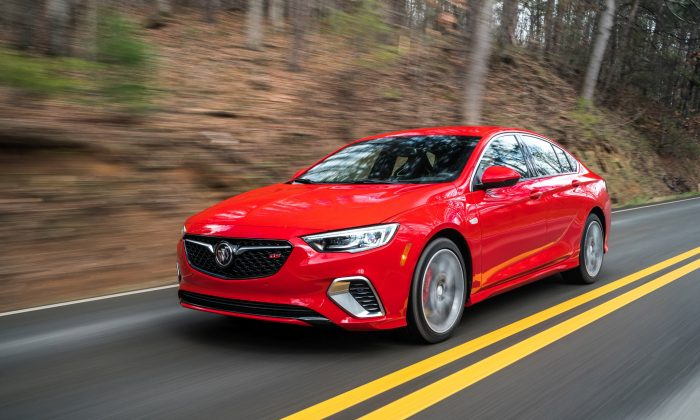 2018 Buick Regal GS. (Courtesy of GM/Buick)
