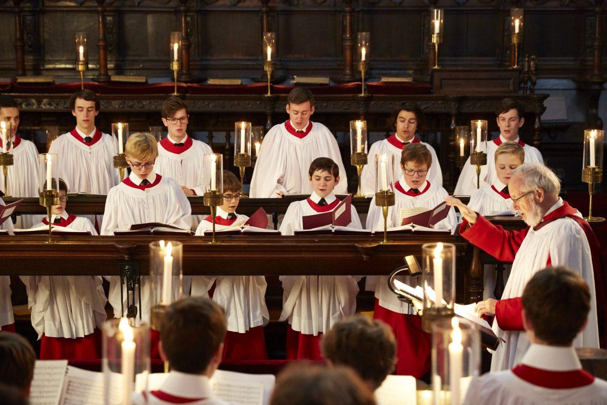 Choir King's College Chapel