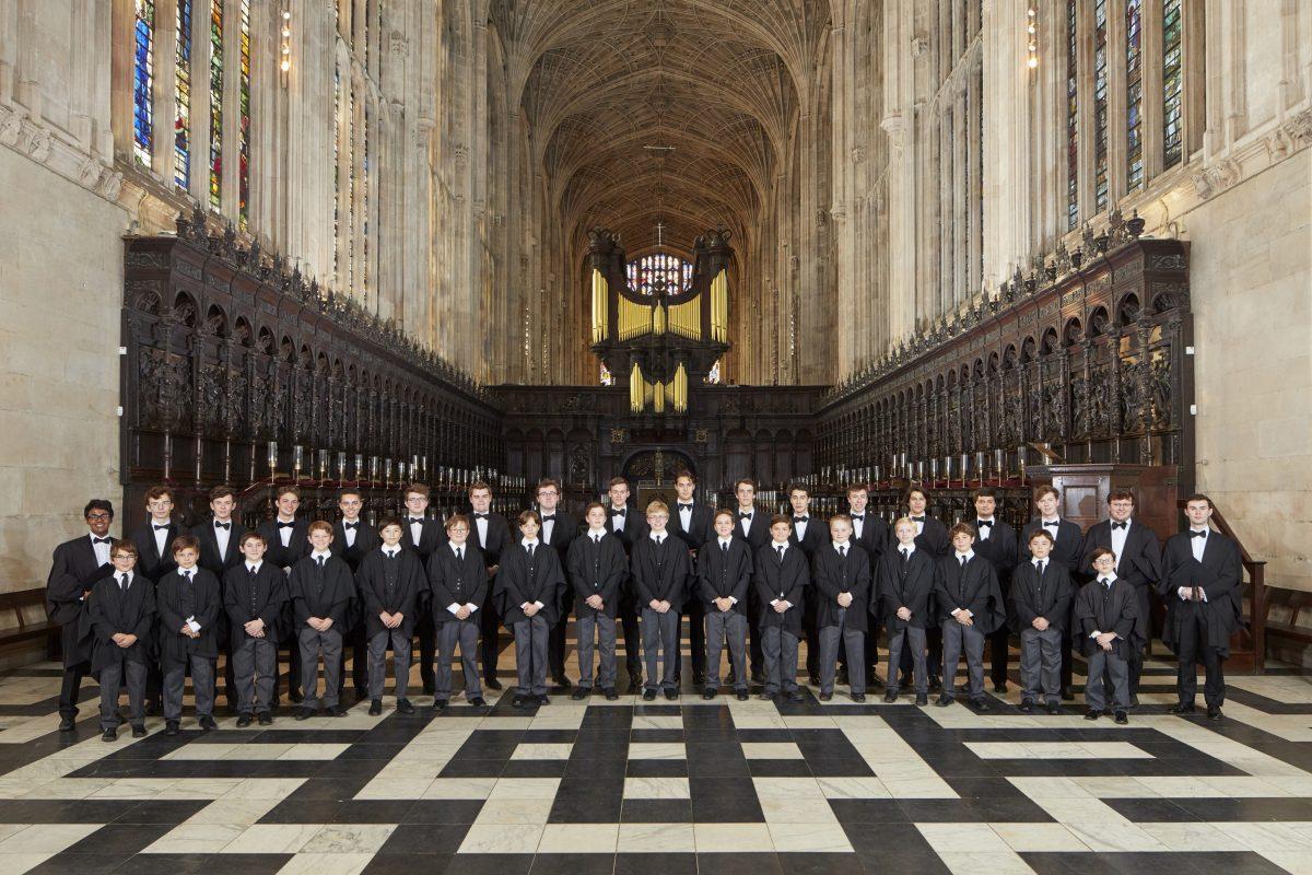 Kings College Chapel Cambridge Choir 2018