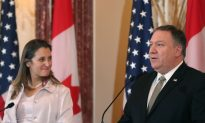 Pompeo Says China's Detention of 2 Canadian Citizens Is Unacceptable