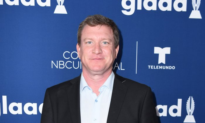 Actor Stoney Westmoreland at The Beverly Hilton Hotel in Beverly Hills, Calif., on April 11, 2018. (Vivien Killilea/Getty Images for GLAAD)
