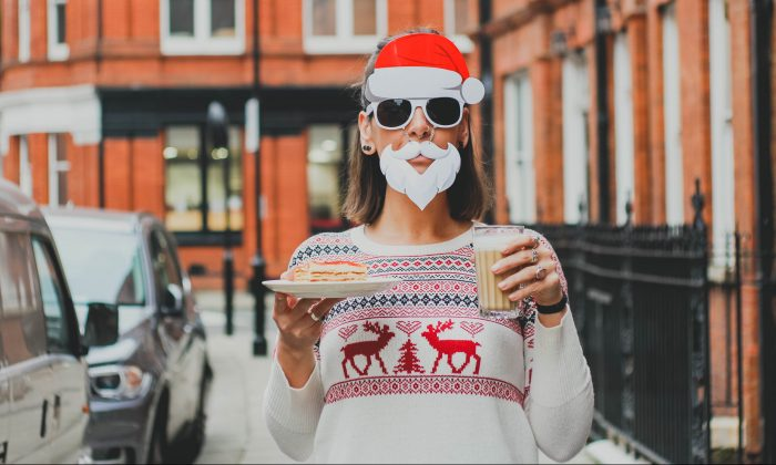 The holidays are a time of indulgence. But don't give yourself too much grief over breaking your diet or exercise routine because that can make it harder to get back on it. (Toa Heftiba/Unsplash)