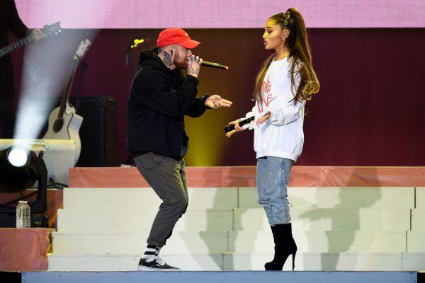 Mac Miller and Ariana Grande sing