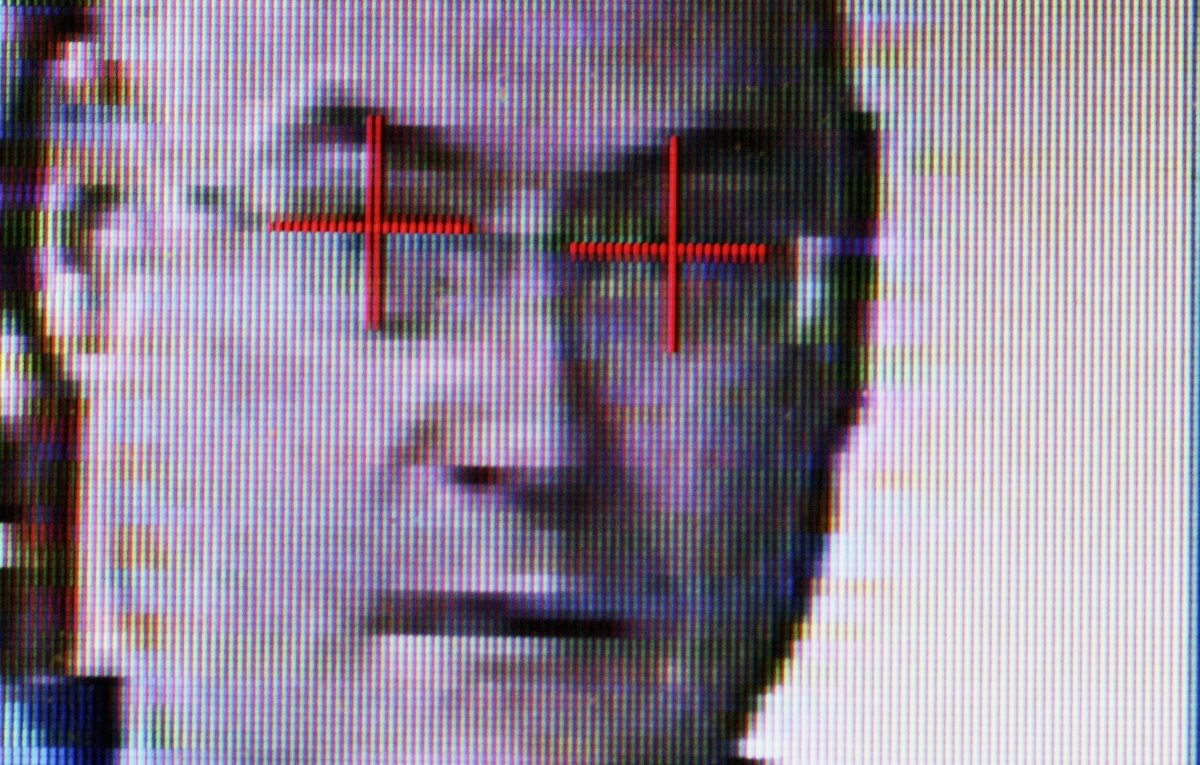 Facial recognition technology is operated in Sydney, Australia